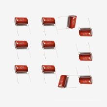 Metallisierter Polyester-Film-Kondensator Mkt-Cl21 10UF 5% 100V für PC-Telefon