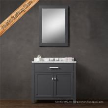 Современное унитаз для ванной комнаты с отделкой серого цвета
