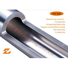 Bimetallic Screw Barrel for Plastic Machinery Extrusion