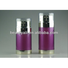 double pipe airless bottle 20ml 30ml 60ml