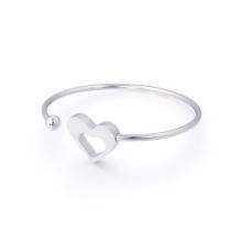 Liebes-Höhlen-Herz-offenes justierbares Armband-Armband für Frauen