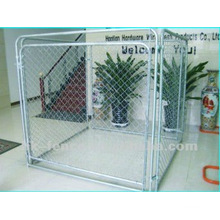 Hot dip galvanized zinc dog and kennel (factory)