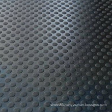 Rubber Mat Flooring in Round Dots Pattern
