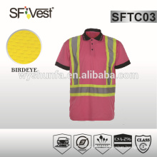 t-shirt high visibility clothing with 3m high visibility tape protective clothing confirm to CSA Z96-09