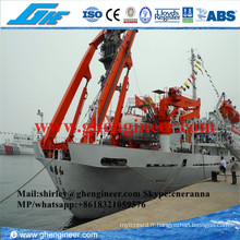5t @ 5m Hydraulic a Frame Shipstern Offshore Crane