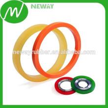 Farbige und verschiedene Größen Gummi Material O Ringe