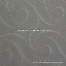 Polyester Wrinkle Patten Owindow cortina de tela