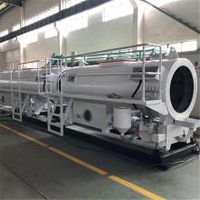 Línea de fabricación de extrusión de tubos de HDPE de gran tamaño