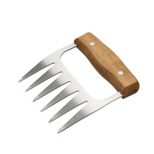 Holzgriff S / S Pulled Pork Shredder Claws