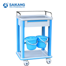 SKR-CT720 Cheap Anaesthetic ABS Medical Nursing Trolley With Drawers