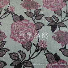 Jacquard Chenille Yarn Dyed Decorative Fabric for Home Textile
