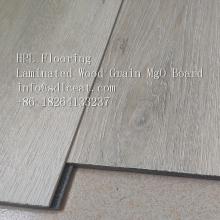 Revêtement de sol en grain de bois laminé MgO résistant au feu