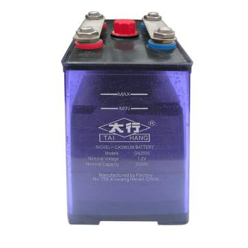 batterie de stockage nickel-cadmium batterie KPM500