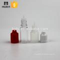E Flüssigkeit 5ml 10ml Tropfflasche PET / PP Plastikflasche mit kindersicherer Kappe