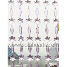 Winter 28MM & 38MM Kunststoff Crystal Beading Garland