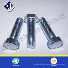 Tornillo hexagonal hexagonal ISO4017 de perno hexagonal