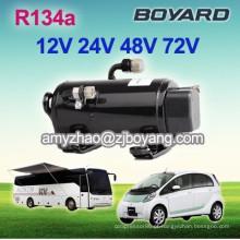 r134a boyard 12v brushless dc compressor de ar condicionado para baixa tensão BUS ar condicionado