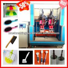 broom manufacturering machine /trimming and flagging machines/broom toilet brush making machine