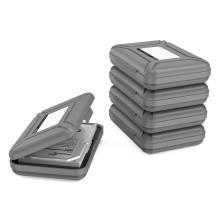 ORICO 5 Bay Caixa protetora de 3,5 polegadas / Estojo de armazenamento para disco rígido (HDD) ou SDD (PHX35-5S)