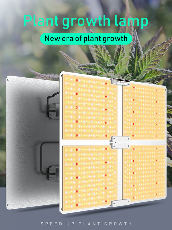 400w لا ضوضاء LED تنمو ضوء