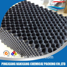 Plastic Structured Packing with criss-cross structure Grade Thermoforming for cooling towel