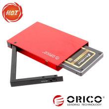 2.5 '' SATA HDD Gabinete externo com interface USB3.0 + eSATA