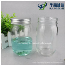 12oz Round Food Storage Canning Preserve Glass Mason Jar