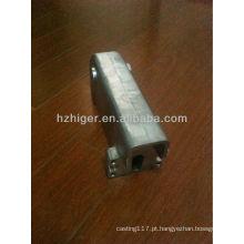 peça de máquina de costura de alumínio de fundição personalizado