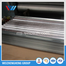 SGCC galvanized steel coil corrugated bumbung sheet