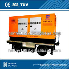 Trailer type Silent 50Hz 250kW Diesel Genset