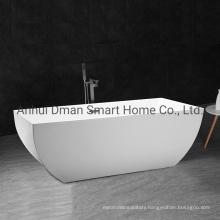 Acrylic Freestanding White Soaking Bathtub