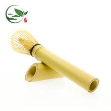 Bambú de tallo largo Chasen Matcha hecho a mano de bambú