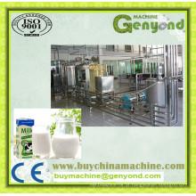 Máquinas completas de produção de leite Uht
