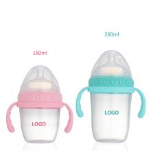 big neck mouth baby bottle tritan bottle milk bottle 180ml