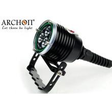 3000lm подводный светодиодный фонарик для дайвинга водонепроницаемый IP68