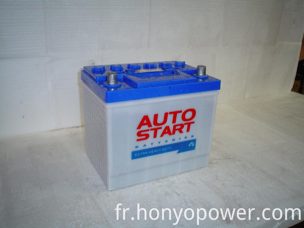 12V 60Ah Dry Charged Batteries