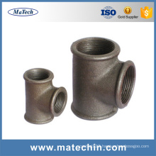 ISO9001 Foundry Manufacturing Malleable Cast Iron Pipe Fitting
