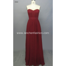 Beautiful Long Chiffon Evening Formal Bridesmaid Dress