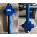 Mechanical screw jack lifting system