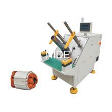 Équipement d'insertion de bobines semi-automatiques à bobines de stator de moteur à trois phases