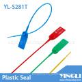 Sceau de sécurité en plastique avec numéro de série et logo (YL-S281T)