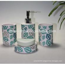 2016 New design custom ceramic bathroom set