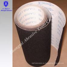 Rollo de tela abrasiva impermeable del óxido de aluminio de los 1.4m * 50m 115m m * 50m