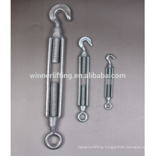 ce certificated galvanized us type turnbuckle with jaw and jaw