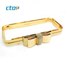 Wholesale bag accessories square open channel wholesale clutch purse frames metal clutch purse frame clutch bag frames