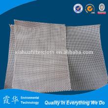 Industrial glassfiber filter cloth for bag filters