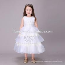 Die Hauptanziehungskraft weißer Tulle Puffy Schichten Boutique Clothing Geburtstagskleid für Baby