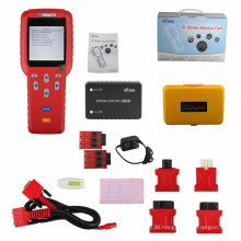 Original Red Xtool-100 Pro Auto Key Programmer & Service Reset + Updated Version with EEPROM Adapter