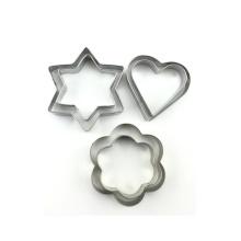 Moule de presse étoile coupe-biscuit forme différente biscuit