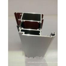 Perfil de janela em alumínio revestido a pó